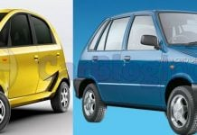 used tata nano vs maruti 800