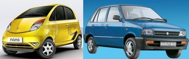 Buying Pre-Owned – Tata Nano Vs Maruti 800