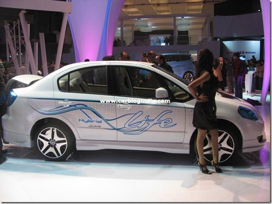 Maruti Suzuki SX4 Hybrid At Auto Expo 2010 – Specifications , Features And Pictures