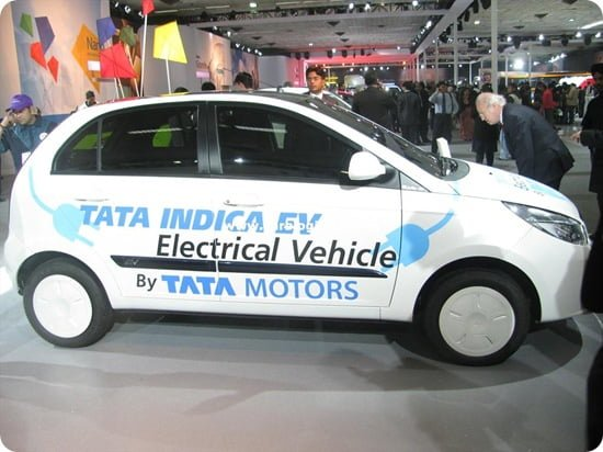 Tata Indica EV (Electric Vehicle)-  Displayed at Auto Expo 2010- Features And Specifications