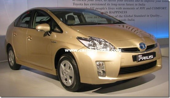 Toyota Launches Hybrid Car Prius At Auto Expo 2010 – Exclusive Pictures, Features, Specifications And Price