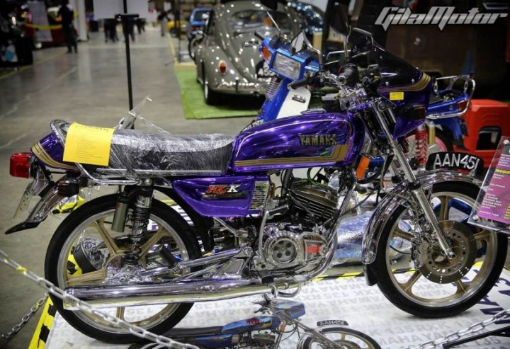 New Yamaha RX 135 Malaysia-Modified-Bike-Images