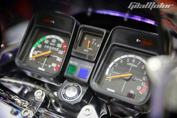 Yamaha RX 135-Malaysia-Modified-Bike-Images-Speedometer