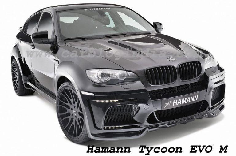 Geneva Motor Show 2010 – Hamann Tycoon Evo M Based On BMW X6M