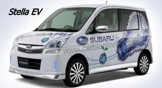 Geneva Motor Show 2010 – Subaru Hybrid Tourer Concept And Stella EV