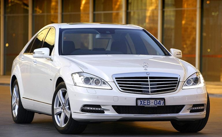 Mercedes S350 CDI L Blue efficiency and S350 L – The 2010 S-Class Line-up