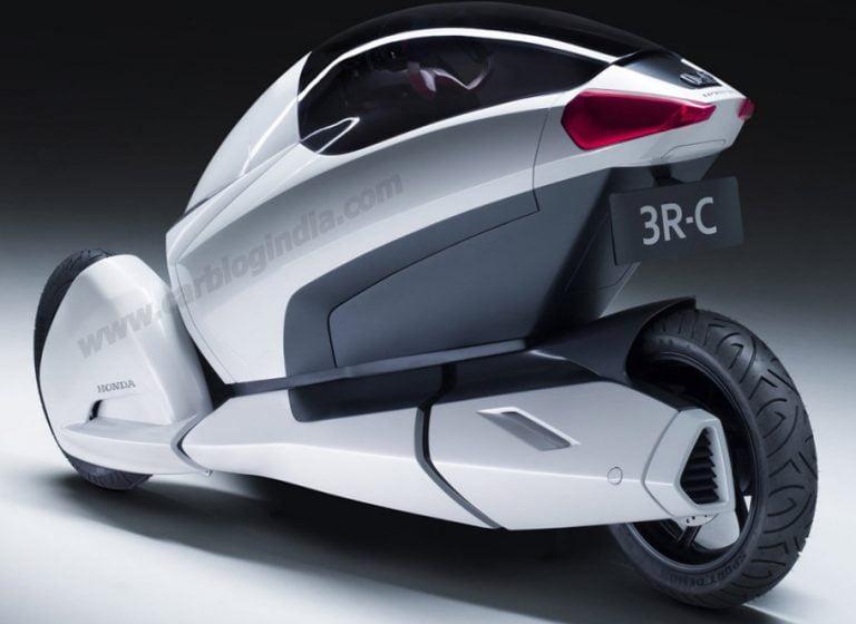 Geneva Motor Show – Honda Showcase 3R-C 3 Wheeled Car Concept