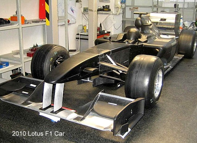 Lotus F1 Car For 2010