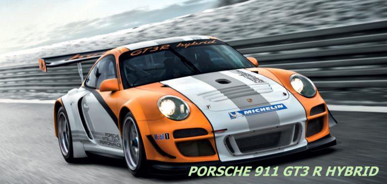 Porsche Reveals The 911 GT3 R Hybrid With A Unique Hybrid Technology