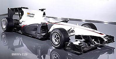 The 2010 F1 Car By BMW – BMW C29