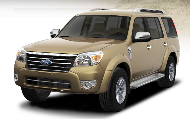 New Ford Endeavour Third Gen With Automatic Transmission