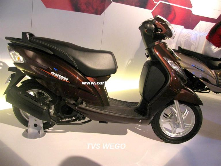 110CC Automatic Gearless Scooter By TVS – TVS Wego