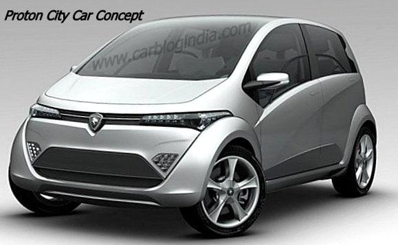 Geneva Motor Show – Spacious And Powerful Proton Hybrid City Concept Car Family