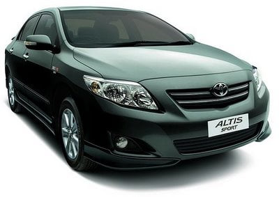 Toyota Corolla Altis Sport – 2010 Limited Edition Features, Specifications And Price