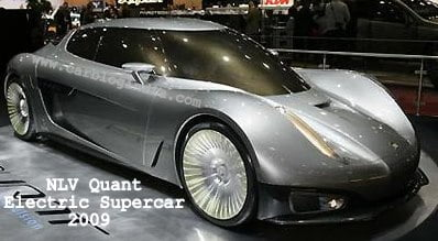 Geneva Motor Show – 512BHP Koenigsegg NLV Quant Electric Supercar Debut