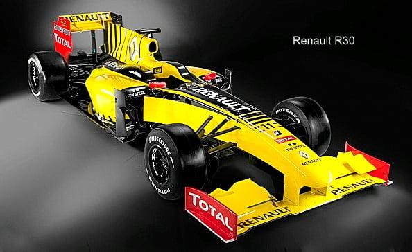 Renault 2010 F1 Car – The R30