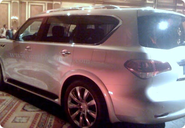 2011 Infiniti QX 56 Pictures From New York Auto Show