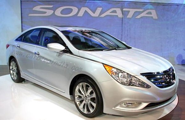 2011 Hyundai Sonata Turbo Launch At New York Auto Show