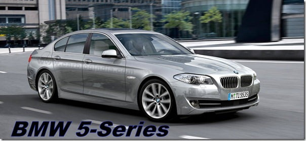 All New BMW 5 Series To Debut At New York International Auto Show 2010