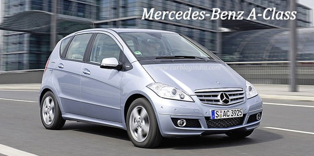 Mercedes benz a class small car specifications features for Smallest mercedes benz