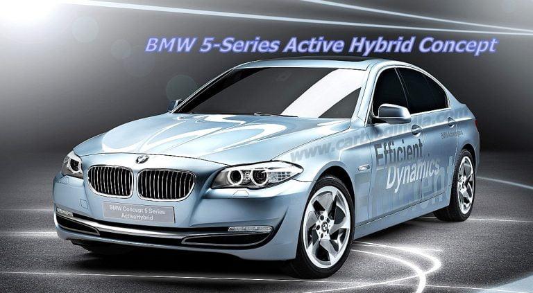 Geneva Motor Show – BMW 5-Series Active Hybrid Concept