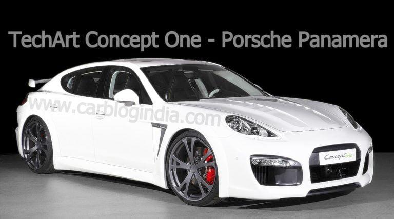 Geneva Motor Show – Techart Concept One – Porsche Panamera