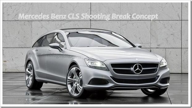 Mercedes Benz CLS Shooting Break Concept