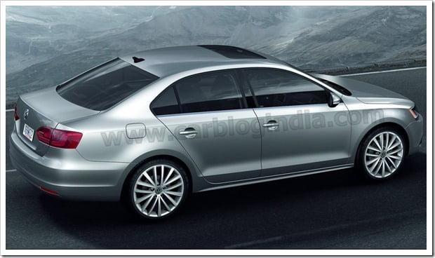 2011 Volkswagen Jetta Back