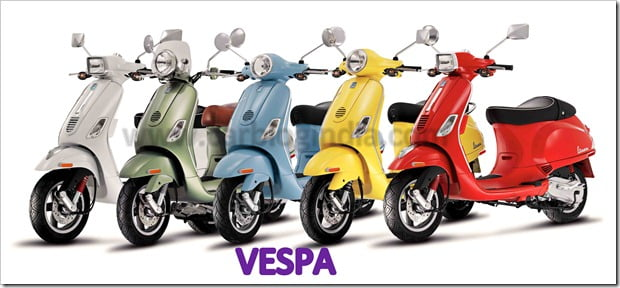 Vespa LX 125 – New Age Vespa Two-Wheelers In India