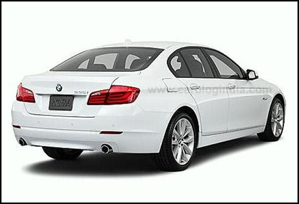 2011 BMW 5-Series rear