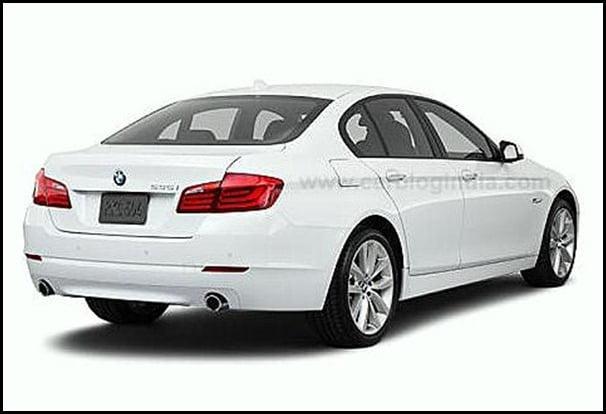 2011 BMW 5-Series rear