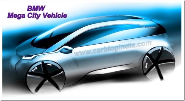 BMW Mega City Vehicle(MCV)