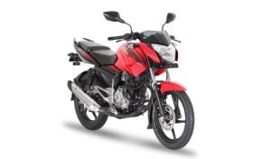 Bajaj Pulsar 135LS Cocktail-Wine-Red-front-angle-images-2