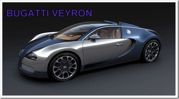 Bugatti Veyron India Side1