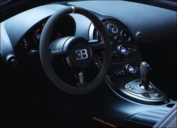 Bugatti Veyron Super Sport Cockpit