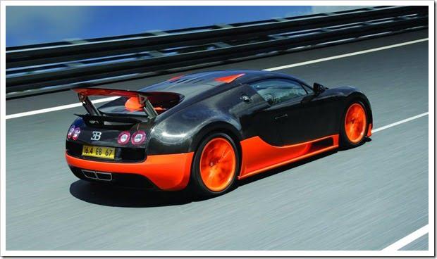 Bugatti Veyron Super Sport Rear
