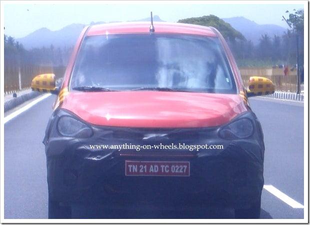 Hyundai i10 facelifted