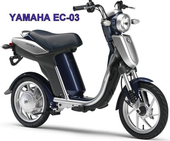 Yamahazeroemissionscooterec on Japanese 50cc Scooter
