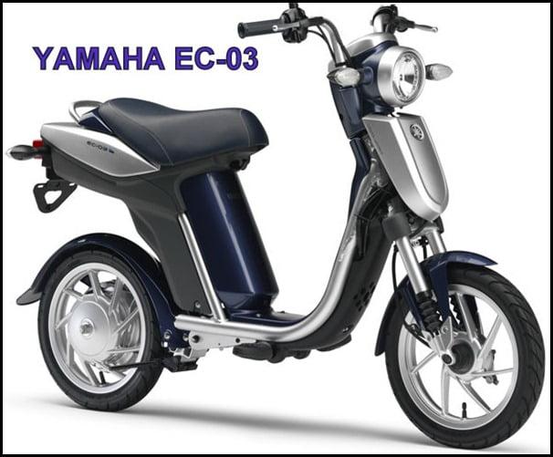 YAMAHA ZERO EMISSION SCOOTER EC 03