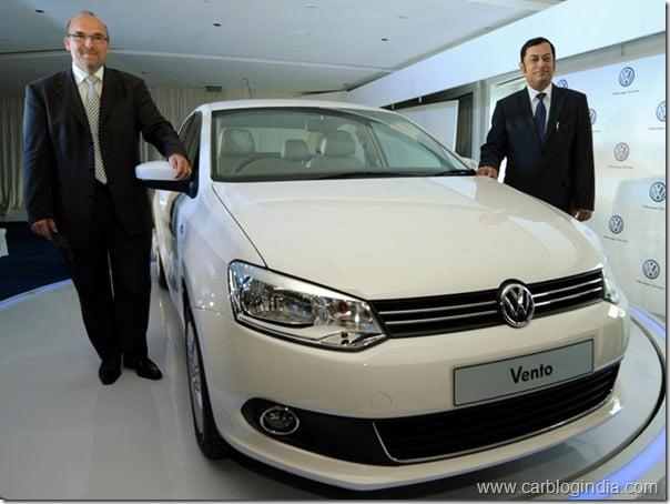 Volkswagen Vento Price In India