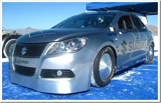 Suzuki Kizashi Bonneville Special Breaks Land Speed Record With 203+ MPH