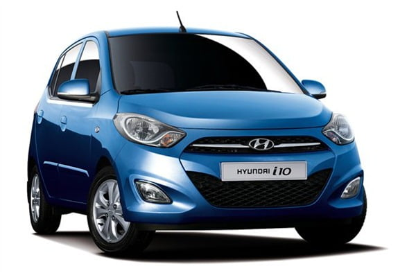 Hyundai i10 Facelift Official Picture