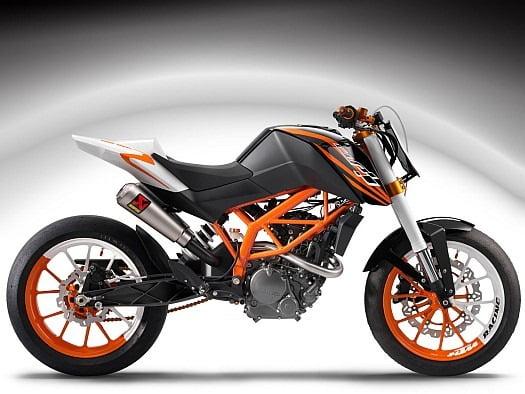 KTM 125 India