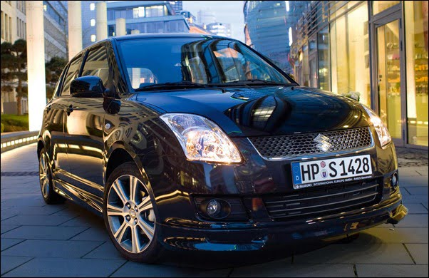 Suzuki Swift Black and White schwarz 2
