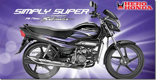 hero honda new super splendor