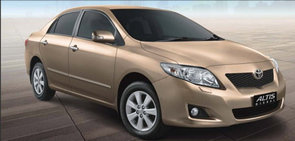 Toyota Cars Get Costlier In India From 1st Oct 2010