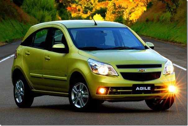 chevrolet agile chevrolet aveo based compact suv    india specifications
