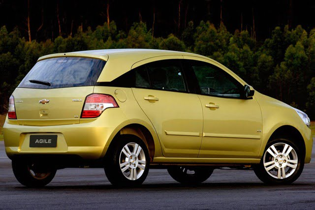 Chevrolet Agile Chevrolet Aveo Based Compact Suv May Come To India