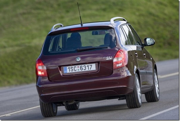 Skoda Fabia Combi – Fabia Based Sedan Expected In 2011 – Specifications & Price