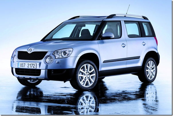 Skoda Yeti Available In Showrooms Starting 15 November